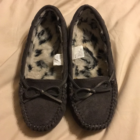 Kohls Womens Moccasin Slippers